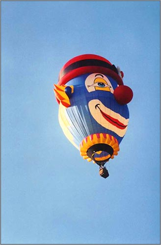 The Brazilian Clown Balloon.