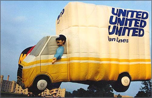 United Van Lines Balloon.