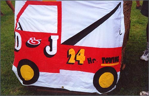 Another D & J Banner from Wellsville NY made by Paula Greene.